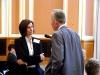 Die Berliner Senatorin Carola Bluhm und Manfred Bruns (LSVD-Bundesvorstand) - Foto: Caro Kadatz