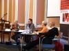 Talkrunde mit  Henny Engels (Geschäftsführerin Deutscher Frauenrat),  Günter Dworek (LSVD), Volker Beck, MdB (Bündnis 90/Die Grünen) und Bischöfin a.D. Maria Jepsen - Foto: Caro Kadatz