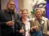 Andreas Hochrein-Margeit, Uta Schwenke (LSVD-Bundesvorstand) und Partnerin - Foto: Caro Kadatz
