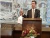 Würzburger Oberbürgermeister Christian Schuchardt lud zum Empfang