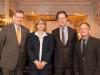 Rolf Schütte, Sabine von Mehrung, Axel Hochrein und Detlef Gericke-Schönhagen - Foto: LSVD