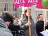 Renate Rampf (LSVD-Pressesprecherin), Axel Hochrein und Helmut Metzner (beide LSVD-Bundesvorstand) - Foto: Caro Kadatz