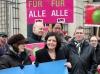 Konstanze Körner (LSVD Berlin-Brandenburg) und Malu Dreyer (SPD) - Foto: Caro Kadatz