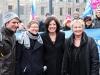 Jörg Steinert (Geschäftsführer LSVD Berlin-Brandenburg), Renate Rampf (LSVD-Pressesprecherin), Malu Dreyer (SPD) und Irene Alt (Bündnis 90/Die Grünen) - Foto: Caro Kadatz