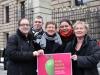 Petra Nowacki (Schwusos), Günter Dworek (LSVD-Bundesvorstand), Renate Rampf (LSVD-Pressesprecherin), Anja Kopfbinger (LSVD Berlin-Brandenburg, (Bündnis 90/Die Grünen) und Irene Alt (Bündnis 90/Die Grünen) - Foto: Caro Kadatz