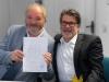 Hasso und Stefan. Foto: Horst Ruland, Werbefilm- & Fotoagentur Saarbrücken