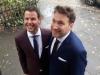 Martin und Tobias. Foto: Privat