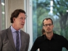 Axel Hochrein und Markus Ulrich (Hirschfeld-Eddy-Stiftung)  - Foto: Caro Kadatz