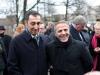 Cem Özdemir (Bundesvorsitzender von Bündnis 90 / Die Grünen, MdB) und Hakan Tas (Die Linke, MdA) - Foto: Caro Kadatz