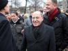 Gregor Gysi (Fraktionsvorsitzender der Linksfraktion im Bundestag), Klaus Lederer (Berliner Landesvorsitzender der Linken, MdA) - Foto: Caro Kadatz