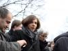 Özcan Mutlu (Bündnis 90 / Die Grünen, MdB), Katrin Göring-Eckardt (Fraktionsvorsitzende von Bündnis 90 / Die Grünen im Bundestag), Ulle Schauws (Bündnis 90 / Die Grünen, MdB) - Foto: Caro Kadatz