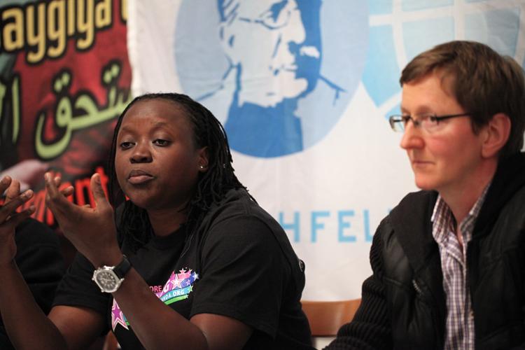 Ssenfuka Warry, die Leiterin von FARUG - Foto: Caro Kadatz