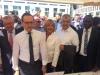 Karl-Heinz Brunner (SPD, MdB), Justizminister Heiko Maas, Christine Lüders (Leiterin der Antidiskriminierungsstelle), Gökay Sofuoğlu (TGD), Karamba Diaby (SPD, MdB)