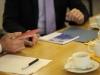 Übergabe der Festschrift an  Dr. Jan-Marco Luczak (CDU) - Foto: Caro Kadatz