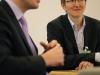 Dr. Jan-Marco Luczak (CDU) und Renate Rampf (LSVD-Pressesprecherin) - Foto: Caro Kadatz