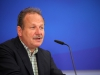 Grußwort von Frank Bsirske (Vorsitzender ver.di) - Foto: Caro Kadatz
