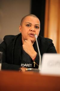Dawn Cavanagh (Coalition of African Lesbians (CAL), Südafrika)