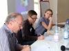 Dr. Jobst Paul (Duisburger Institut für Sprach- und Sozialforschung), Uta Schwenke (LSVD-Bundesvorstand) und Katrin gottschalk (Chefredaktion Missy Magazin)