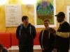 Begrüßung von Oumar Diallo (r.) vom Afrika-Haus Berlin. (c) Afrikahaus