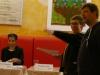 Sarah Kohrt (m.) begrüßte für die Hirschfeld-Eddy-Stiftung (c) Afrikahaus