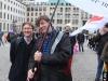 Renate Rampf (LSVD-Pressesprecherin) und Klaus Jetz (LSVD Geschäftsführer) - Foto: Burghard Mannhöfer
