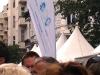 Fahne zum Stand der Hirschfeld-Eddy-Stiftung  - Foto: Caro Kadatz