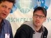 Klaus Jetz (LSVD-Geschäftsführer) und Markus Ulrich (Mitarbeiter der LSVD-Bundespressestelle) - Foto: Caro Kadatz