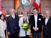 Luis Alfredo Azpiazu (Geschäftsträger der Botschaft von Argentinien), Klaus Jetz (LSVD-Geschäftsführer), Angelika Schöttler (Bezirksbürgermeisterin) und Prof. Dr. Marcos Córdoba (Universität Buenos Aires)  (v.r.n.l.) - Foto: Caro Kadatz