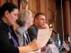 Anja Kofbinger (Vorstand LSVD Berlin-Brandenburg), Annette Hecker (LSVD-Bundesvorstand) und Günter Dworek (LSVD-Bundesvorstand) - Foto: Caro Kadatz