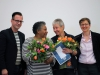 Helmut Metzner, Elizabeth Khaxas, Liz Frank und Renate Rampf - Foto: Caro Kadatz