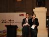 LSVD-Bundesvorstände Axel Hochrein und Imke Duplitzer führten durch den Abend (c) LSVD