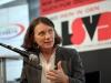 Panel zum Thema Lesben und lesbische Sichtbarkeit im LSVD mit der Historikerin Kirsten Plötz - Foto: Caro Kadatz