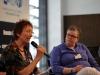 Panel zum Thema Lesben und lesbische Sichtbarkeit im LSVD mit Ulrike Schmauch und Gabriela Lünsmann (LSVD-Bundesvorstand) - Foto: Caro Kadatz
