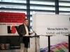 Günter Dworek (LSVD-Bundesvorstand) stellt das neue LSVD-Programm vor - Foto: Caro Kadatz