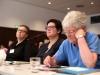 Gabriela Lünsmann, Stefanie Schmidt und Henny Engels (alle LSVD-Bundesvorstand) - Foto: Caro Kadatz