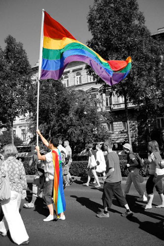 Budapest Pride 2010 - Foto: LSVD-Archiv