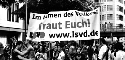 """Traut Euch"" - Foto: LSVD-Archiv"