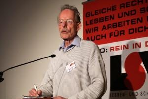 Manfred Bruns (LSVD-Bundesvorstand) - Foto: Caro Kadatz