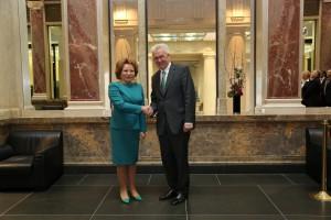 Walentina Matwienko und Winfried Kretschmann (c) Bundesrat / Frank Bräuer
