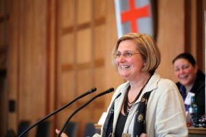 Bezirksbürgermeisterin Angelika Schöttler - Foto: Caro Kadatz