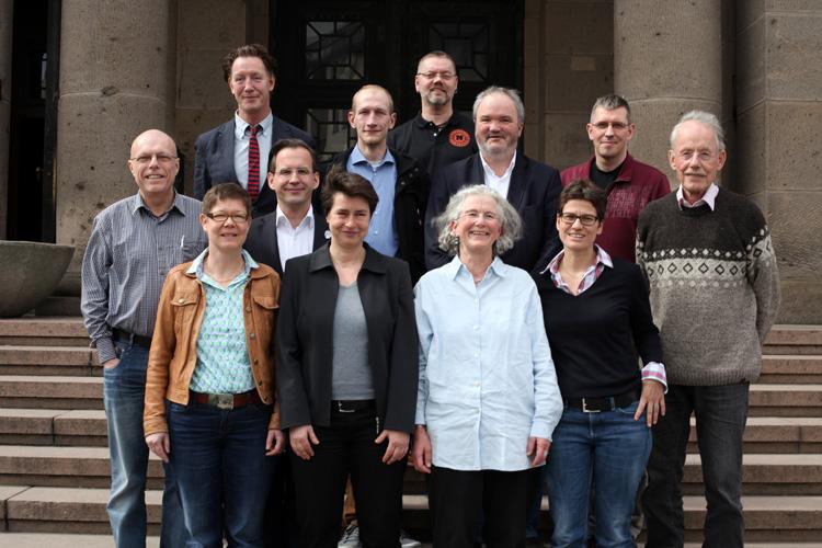 Bundesvorstand 2013 - Foto: Caro Kadatz