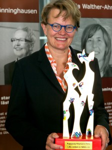 Susanne Baer erhält den Augspurg-Heymann-Preis - Foto: Elke Vahle