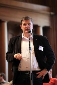 Klaus Jetz (LSVD-Geschäftsführer) beim LSVD-Verbanstag - Foto: Caro Kadatz