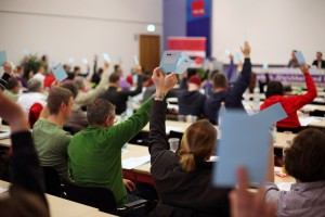 Verbandstag 2014 — Foto: Caro Kadatz