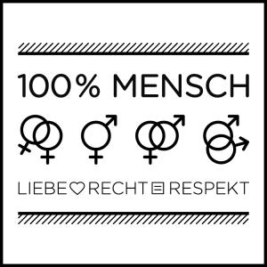 100 Prozent Mensch Logo  - Foto: 100% Mensch