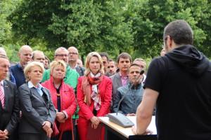 Gedenkfeier für die homosexuellen Opfer des Nationalsozialismus anlässlich des CSD in Berlin (c) So-Rim Jung