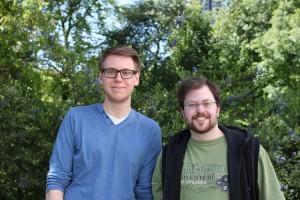Jonas Björklund und Silvano Barbieri (Universität Hamburg)