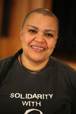 Dawn Cavanagh (Coalition of African Lesbians) - Foto: Caro Kadatz
