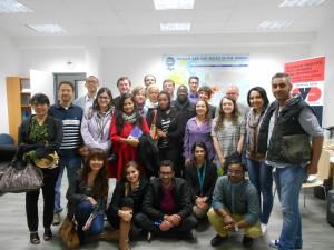 Besuch der Internationalen Akademie für Führungskräfte