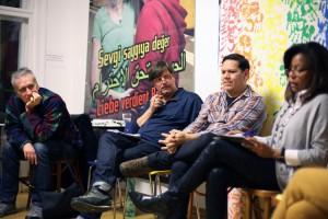 Klaus Jetz (LSVD-Geschäftsführer) und Donny Reyes - Foto: Caro Kadatz